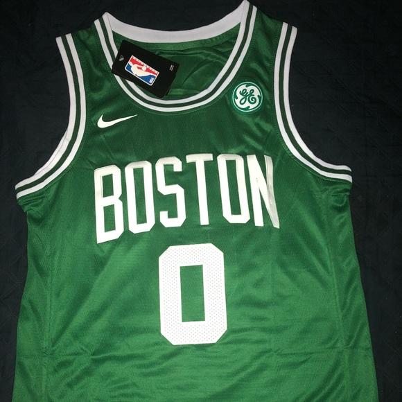 promo code 9f820 4571d Away Boston Celtics Jayson Tatum jersey NWT